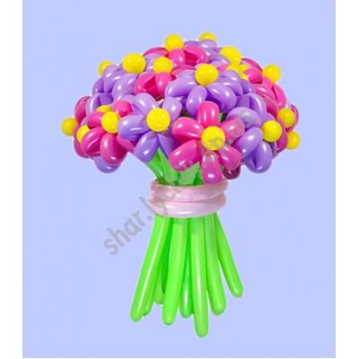 Большой букет 21 цветок