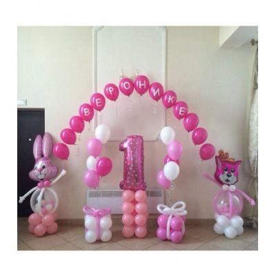 Оформление на день рождения девочки